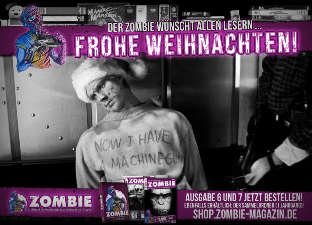 Frohe Weihnachten Film.Das Zombie Magazin Wünscht Frohe Weihnachten Neon Zombie