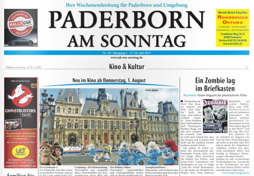 Paderborn am sonntag