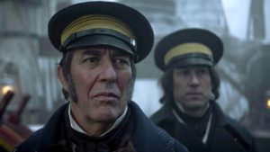 Ciarán Hinds als Commander Sir John Franklin.