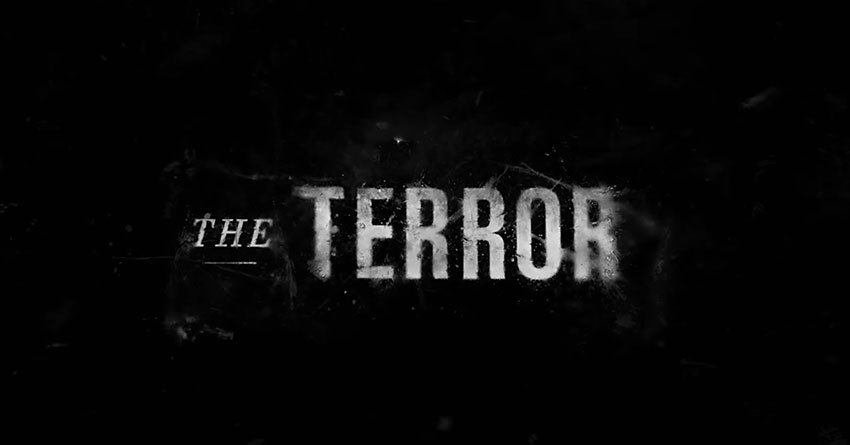 """""""The Terror"""" Titellogo"""