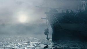 Nicht nur über dem Eis warten Bedrohungen...