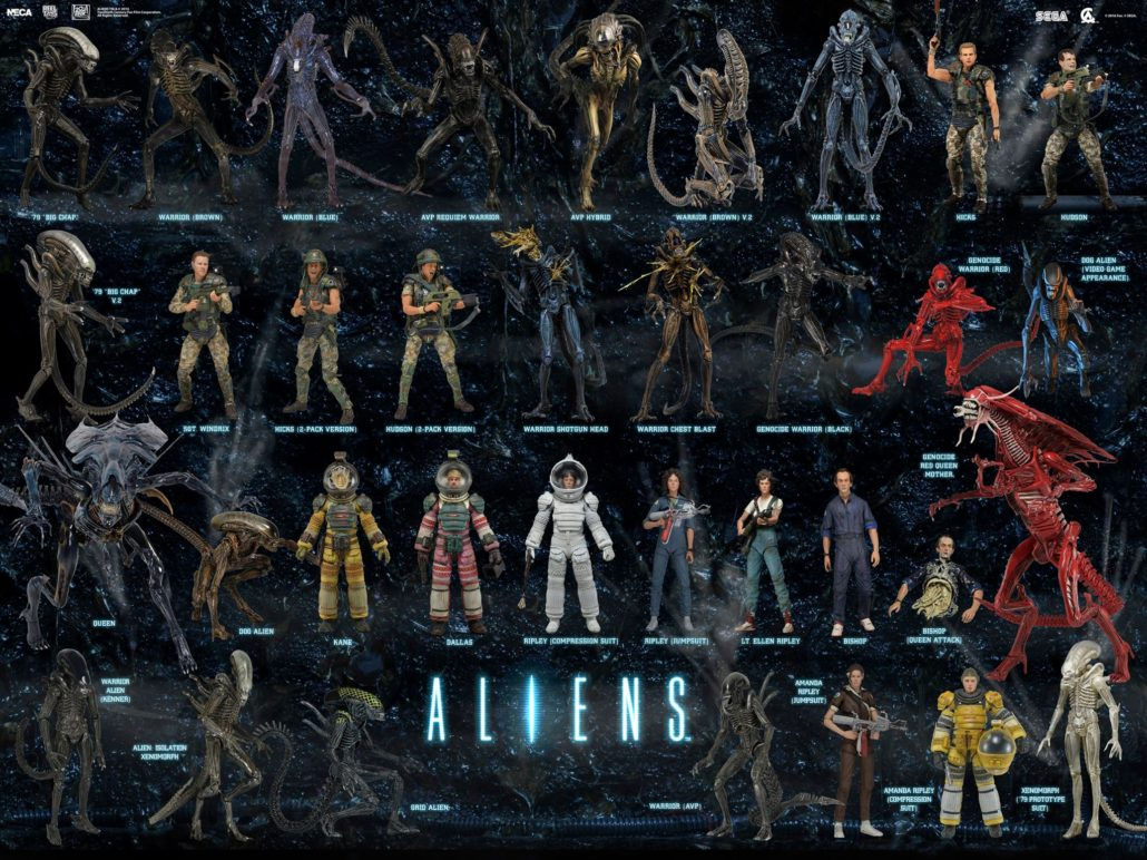 Alien Reihe