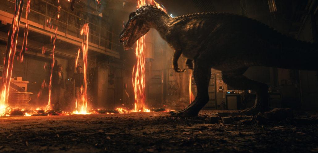 Die Welt der Dinosaurier geht unter...