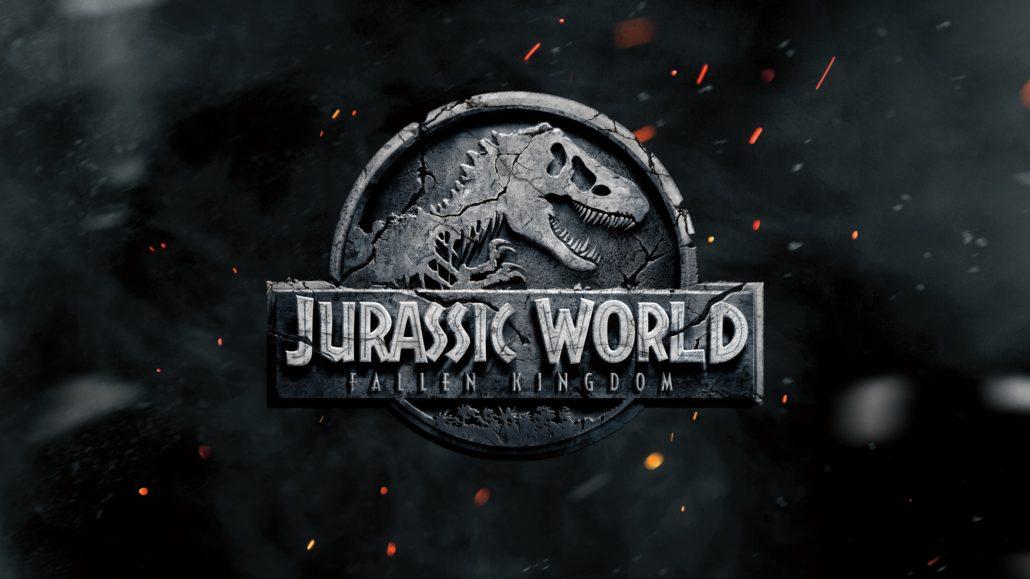 """Das Logo zu """"Jurassic World: Fallen Kingdom""""."""